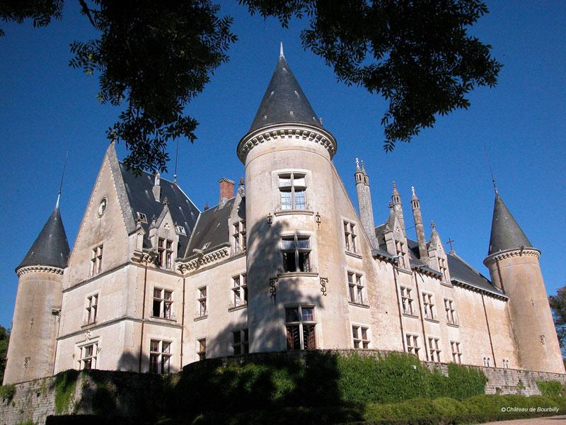 Вокруг Semur-en-Auxois - Château de Bourbilly